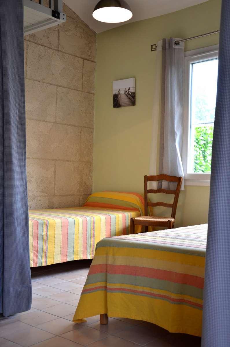 Gîte Pastre de la Résidence de vacances Fontenelle situé entre Arles et St Martin de Crau